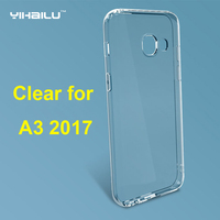 Case For Samsung Galaxy A3 2017 Soft TPU Case Transparent Silicone Cover 2017 For Samsung Galaxy A3 2017 A320 Slim Phone Cases