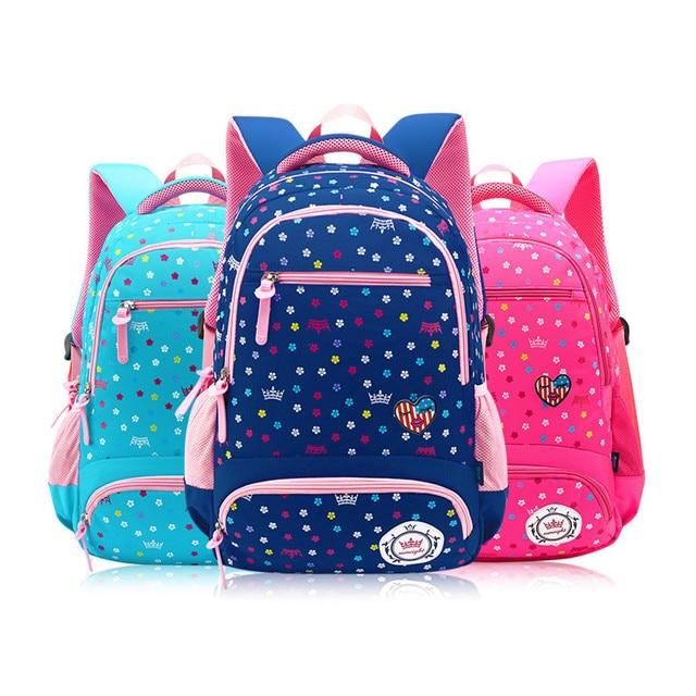 00ac19d7c2993 حقائب مدرسية للبنات الاطفال على ظهره حقيبة للطاقة لطيف حقائب ظهر للأطفال  الكتب المدرسية الفتيات زهرة