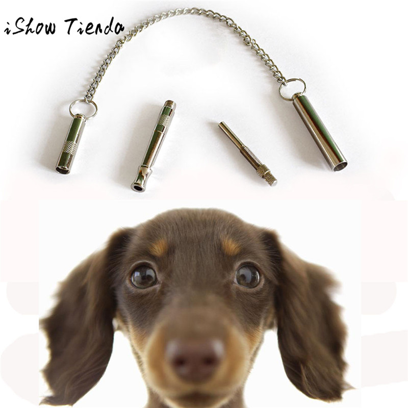 ISHOWTIENDA Copper ABS Pet Dog Training Whistle Ultrasonic