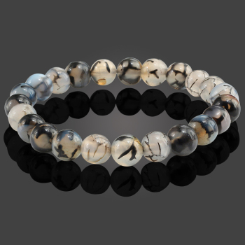Natural Stone Black Dragon Bracelets6