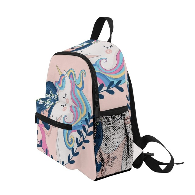 Unicorn Lovely Unique Printing Designed Backpack For Girls