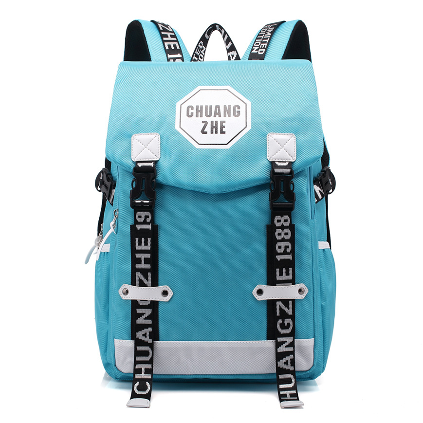 New School Bags British Style Backpack Women Backpacks Patchwork Fashion Girls Travel Bags for Girls Oxford