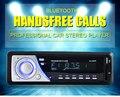 Nueva Radio de Coche 12 V Bluetooth V3.0 Auto Audio Estéreo SD Reproductor de MP3 AUX USB Manos Libres Llamada 1188B radios
