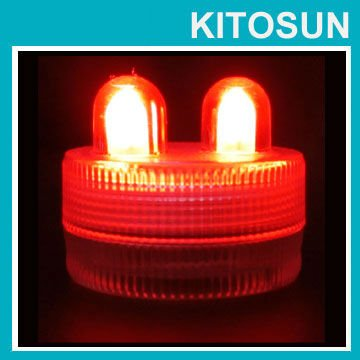Sweet-Tempered Free Shipping Factory Vendor Led Submersible Red Color Wedding Floral Decoration Candle Tea Light Evident Effect Holiday Lighting