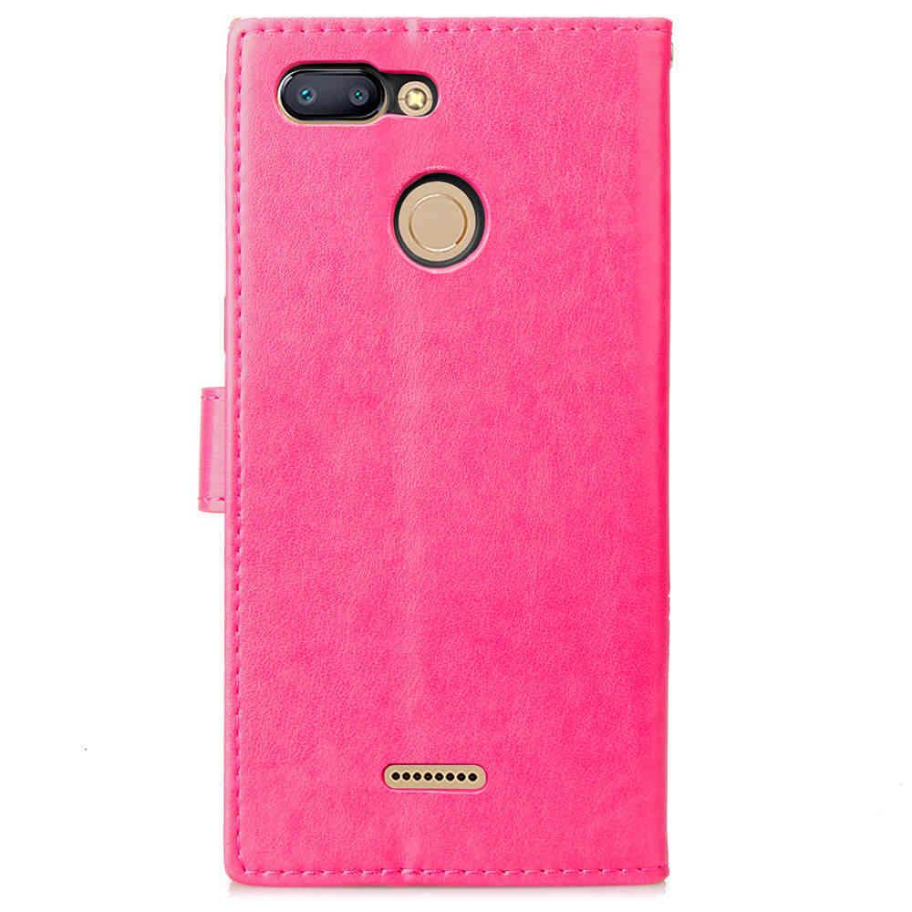 De diamantes de imitación de cuero cubierta de la carpeta para Redmi 6 6a Xiaomi mi 8 SE mi x 2s A2 Lite Redmi 5 Plus 4a 5a note 3 4 4x Nota 5 caso