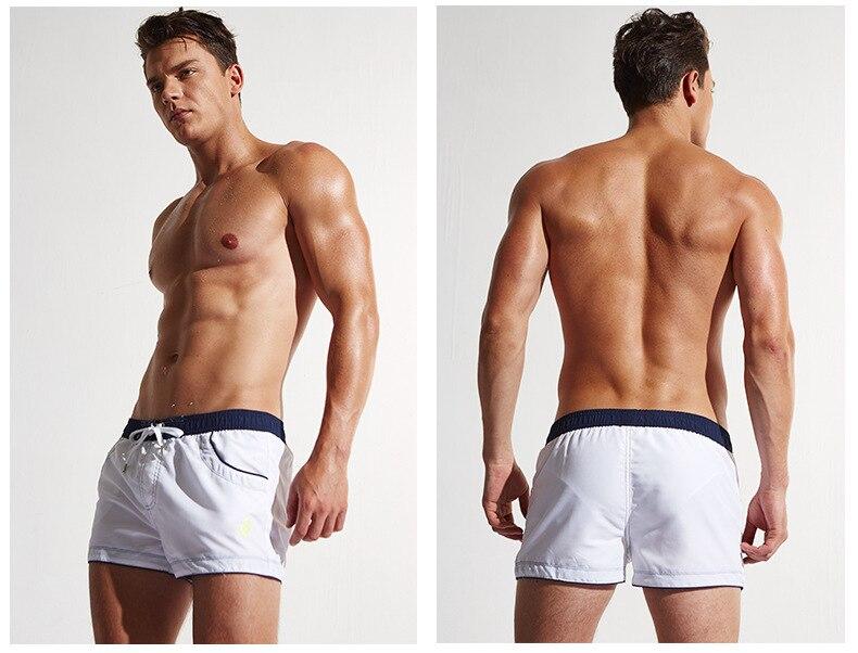 Nuevos Pantalones cortos para hombres Playa Trajes de baño cortos - Ropa de hombre - foto 2
