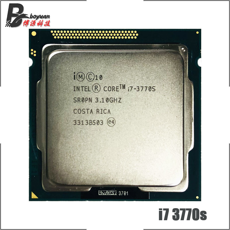 Intel Core i7 3770S i7 3770S i7 3770 S 3 1 GHz Quad Core Eight Core