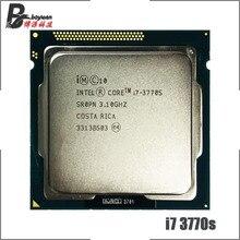 معالج انتل كور i7 3770S i7 3770 S i7 3770 S 3.1 GHz رباعي النواة ثماني النواة 65W وحدة معالجة مركزية LGA 1155