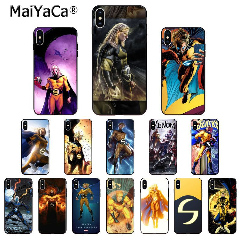Open-Minded Maiyaca Marvel Superhero Sentry Novelty Fundas Phone Case Cover For Iphone 8 7 6 6s Plus 5 5s Se Xr X Xs Max Coque Shell Phone Bags & Cases