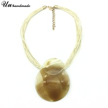 Necklace Jewelry Round Collares