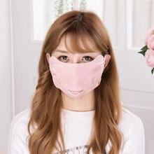 1 шт случайный цвет хлопок Трехмерная маска корейская мода пыленепроницаемый туман теплый корейский стиль маска