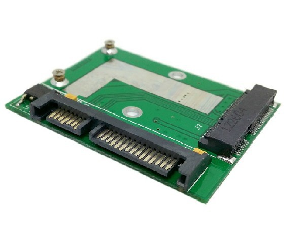Low profile 50mm mini PCI-E mSATA SSD TO 2.5