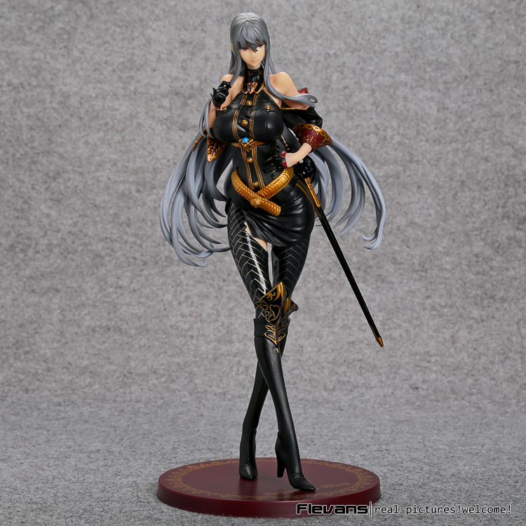 Japan Anime Valkyria Chronicles Selvaria Bles 1 7 Scale Painted Figure Collectible Model Toy