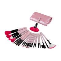 24 Pcs Brand Makeup Brush Set Tools Make Up Toiletry Kit Wool Brand Make Up Brush