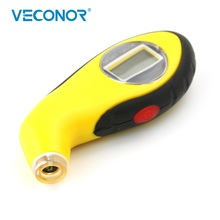 Veconor Digital LCD Display Tire Tyre Air Pressure Gauge Tester Tool For Car Motorcycle PSI KPA BAR Manometer Barometers Tester