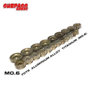 Image 2 - SURPASS HOBBY M0.6 5Pcs 3.175mm 13T 14T 15T 16T 17T 18T 19T 20T 21T 22T Metal Pinion Motor Gear Combo Set for RC 1/8 1/10 Car