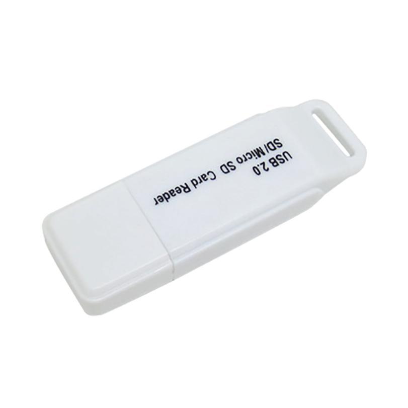 Binmer New USB2.0 MicroSD MicroSDHC / T-Flash Card reader Compact Flash Card Reader 17Se ...