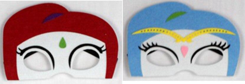 70 * 80cm 2 Layer Shimmer & Shine Capes passende Masken BirthdayParty - Kostüme - Foto 4