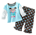 Retail Baby Romper Pants Suit Toddler Overall Sets Long Rompers Suits Trousers Baby's Bodysuit M1755