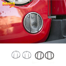 Hoods Lamp Frame-Accessories Turn-Signal-Cover Front-Headlight Jeep Wrangler BAWA