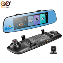 E06 4G Car DVR 7 84 Touch ADAS Remote Monitor Rear view mirror with DVR and