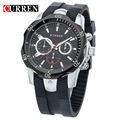 CURREN Men's watch Quartz Water proof Watch Black Plate  Luxury Watches Mountaineering Male Table Casual Resistance 8163