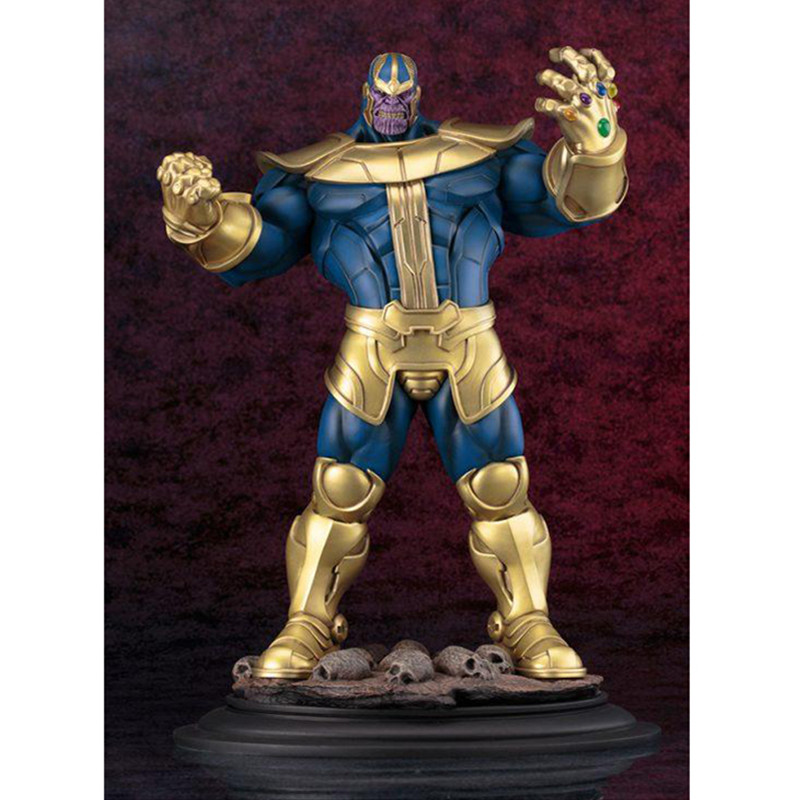 35 CENTIMETRI The Avengers Thanos Infinity Gauntlet GK Statua IN RESINA Action Figure Collection Model Toy M69935 CENTIMETRI The Avengers Thanos Infinity Gauntlet GK Statua IN RESINA Action Figure Collection Model Toy M699