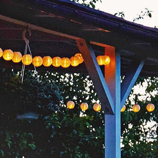 High Quality Solar Powered String Lights Outdoor Sensor Solar String LED Lights  Solar Panel Christmas Decoration