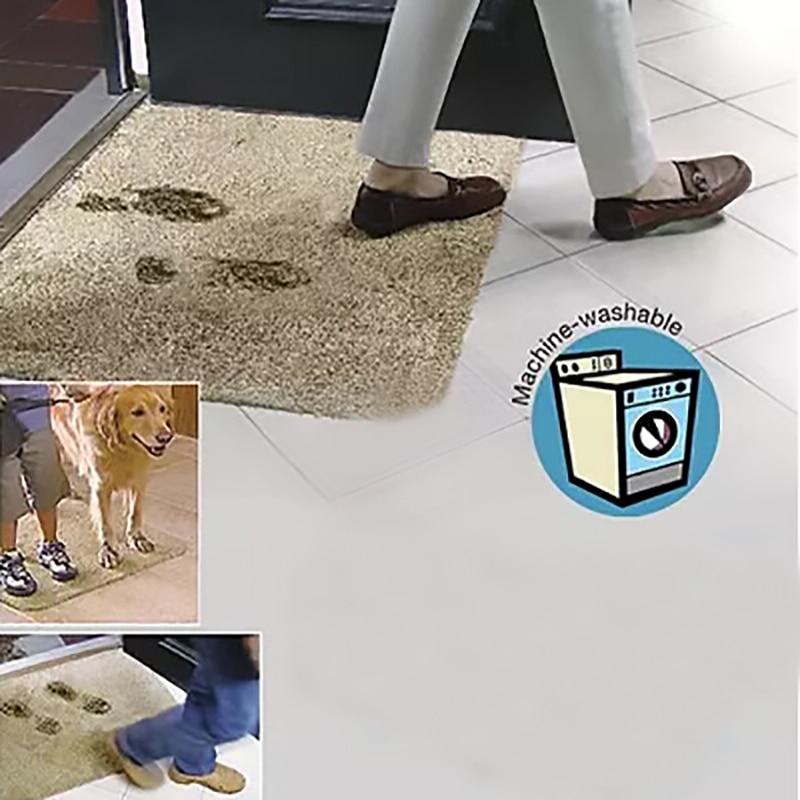 Dropshipping Super Absorvente Magia Passo Super Tapete de Porta Tapete de Microfibra Limpa Lav%C3%A1vel Tapete Capacho - Super Tapete