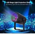 Premium LED Bola Mágica Luz de la Etapa Del Disco de DJ Iluminación Láser con 8 UNIDS Lente Patrón Conmutable Para La Boda de Halloween Navidad