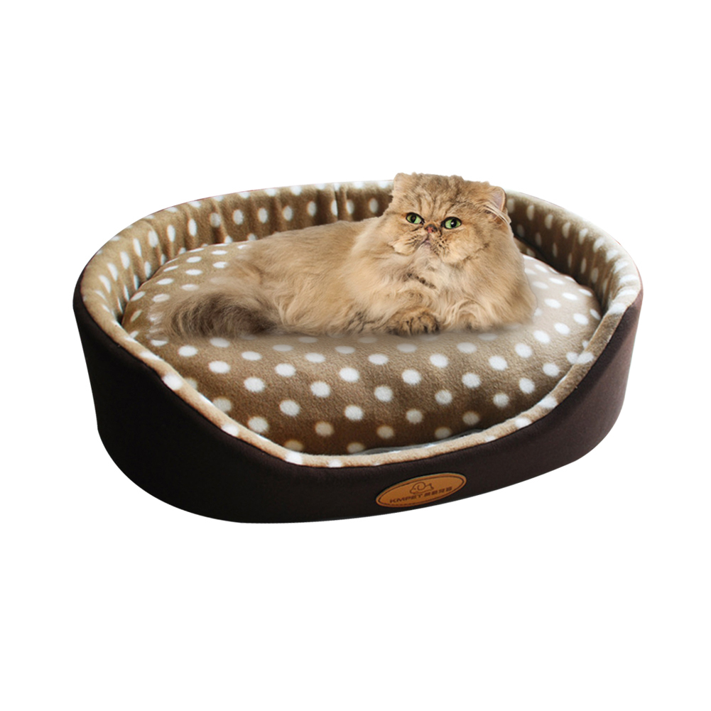 Dual-use Pet Cat Bed Sleeping Nest Detachable Cat Kitten House High Quality Padded Cat Dog Small Pets Rest Bed Pets Sofa Bed