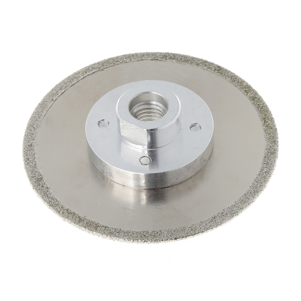 цена на 4 M14 Electroplated Diamond Cutting Grinding Disc Saw Blade For Granite Marble