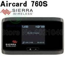 AirCard 760S LTE 100M 4G mifi Router + Sim Card Slot 4G 3g LTE wifi router AirCard 760s(China)