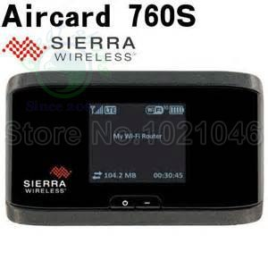 AirCard 760S LTE 100M 4G mifi Router + слот для SIM-карт - Мережеве обладнання