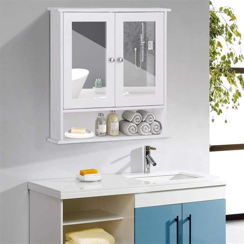 Bathroom Wall Cabinet With Double