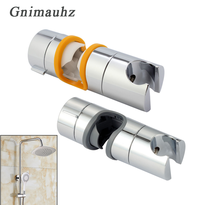 Slider Shower Head Holder Shower Head Bracket Adjustable Shower Head Holder Slider On Bathroom Rail Pipes