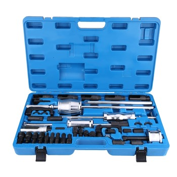 цена на 40Pcs Common Rail Injector Extractor Diesel Puller Set Injection Tool Kit Easy Transport And Storage Professional Tool