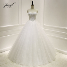 Fmogl Robe De Mariee Sweetheart Wedding Dresses 2019
