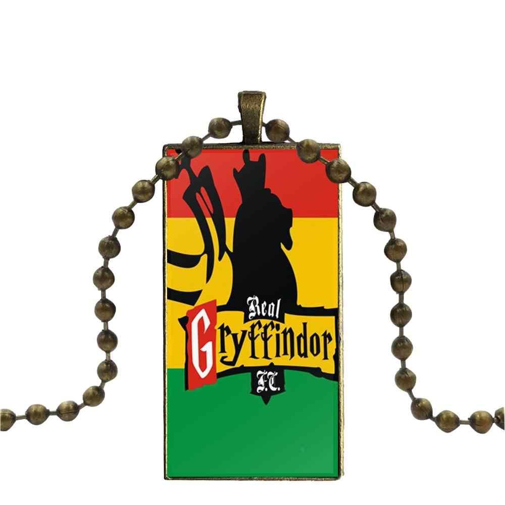 สำหรับของขวัญ Unisex Vintage เครื่องประดับบรอนซ์สีแก้ว Cabochon Choker จี้ยาวสร้อยคอเอธิโอเปียธง