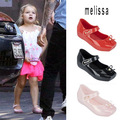 Mini melissa zapatos de ballet zapatos de baile de ballet zapatos 2017 melissa zapatos de la jalea sandalias súper blando sapato infantil menina ee.uu. 5-10