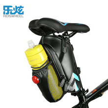 ROSWHEEL 2017 cycle cycling mtb bike bicycle rear seat saddle bag pannier kettle water bottle led light accessories
