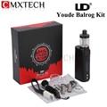 E-cigarrillos originales youde ud balrog 70 w tc tc starter kit con 3 ml atomizador tanque balrog/vw caja vape mod vaporizador
