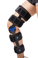 Hinged Knee Patella Brace Support Stabilizer Pad Belt Band Strap Orthosis Splint Wrap Immobilizer Guard ROM