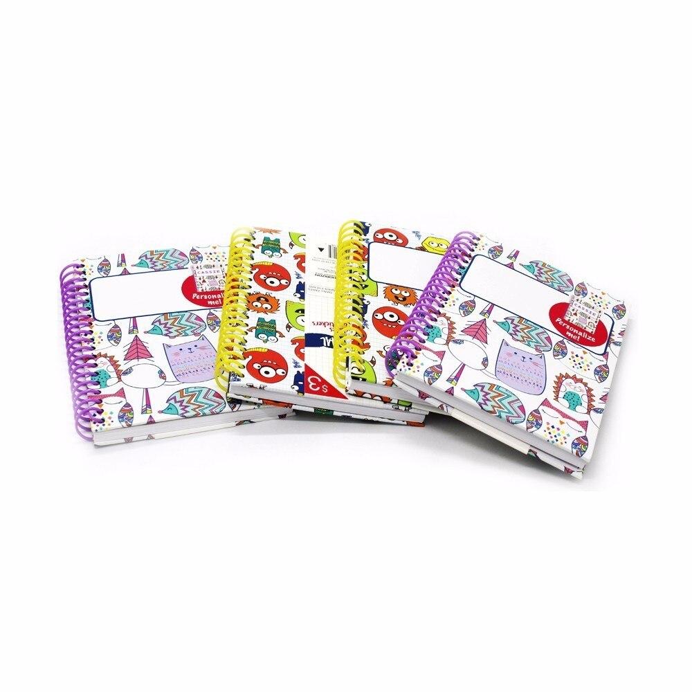 1 ks Poznámkový blok roztomilý čtyři různé vzory kawaii mini - Bloky a záznamní knihy - Fotografie 3