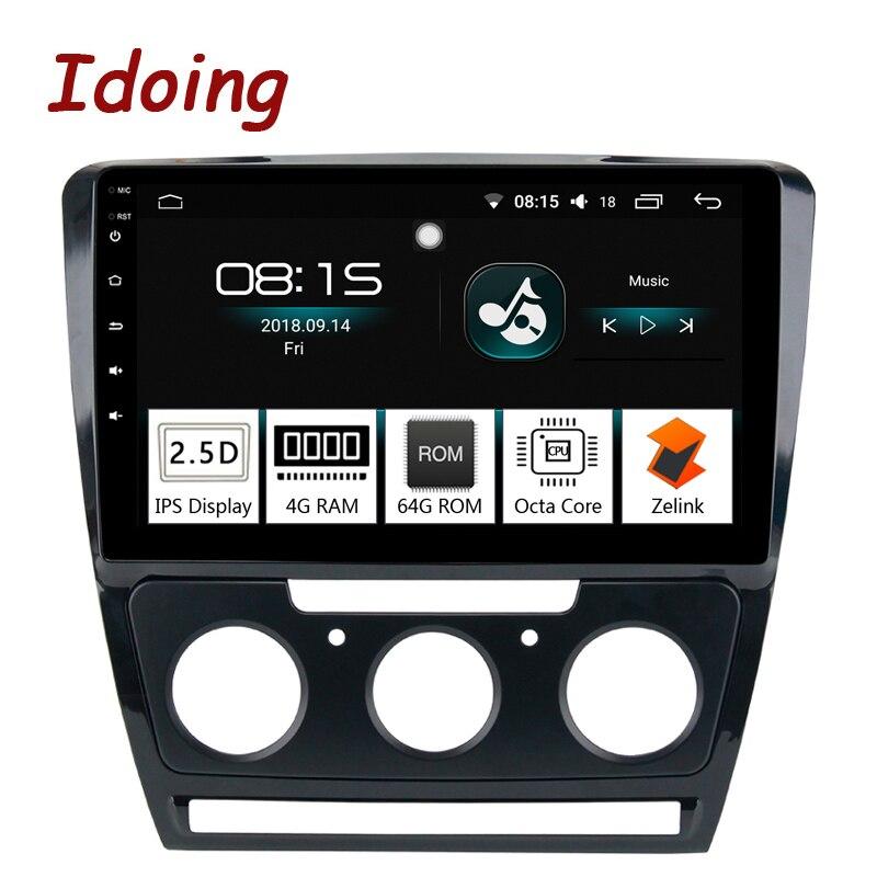 Idoing 10 2 1Din 2 5D IPS 4G 64G Octa Core font b Car b font