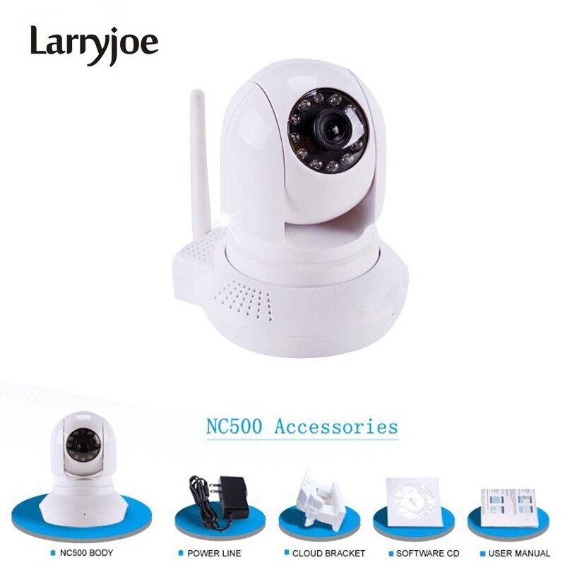 Larryjoe Upgrade Onvif 720P HD Wifi 1 Megapixel P2P PTZ IP Camera CCTV H 264 SD