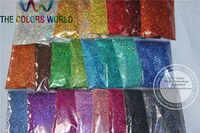 0.4มิลลิเมตร24โฮโลแกรมเลเซอร์แววสีฝุ่นสำหรับเล็บสัก,ยาทาเล็บศิลปะหรืออื่นๆDIYตกแต่ง1แพ็ค= 1200กรัม