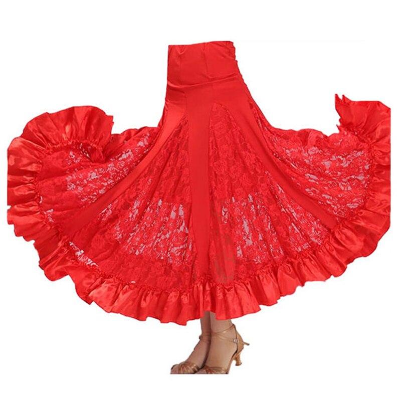 2018 Ballroom Skirt Vestido De Formatura Ballroom Dance Shirt Dancing Dress For Women Yundance Clothing For The Waltz DQ19039