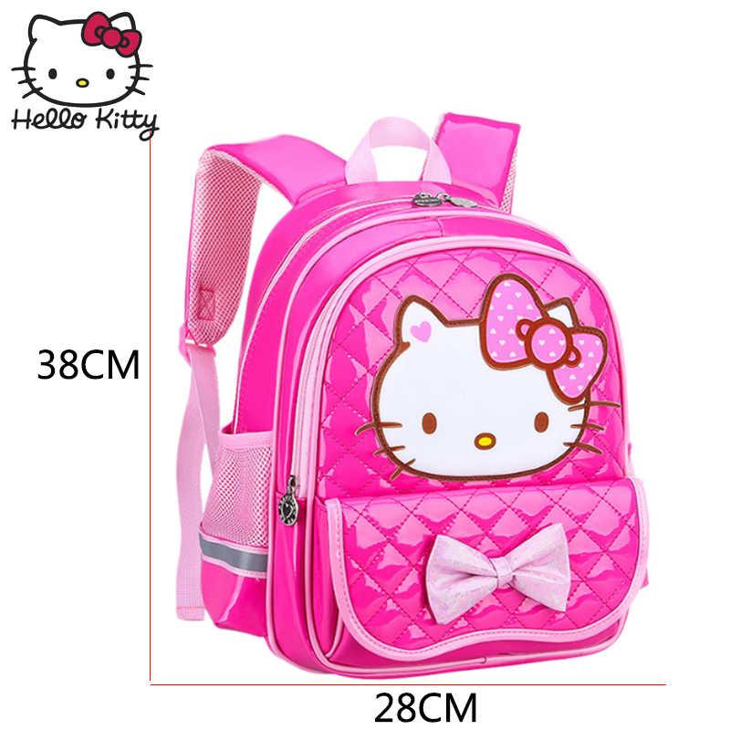 30cd01ffe25f ... Рисунок «Hello Kitty» мешок детский мультфильм маленький класс детский  сад детские KT рюкзак Водонепроницаемый
