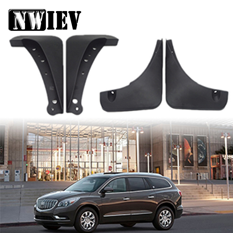 NWIEV Car Styling Front Rear Mudguards For Buick Enclave